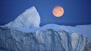 氷河期のイラスト